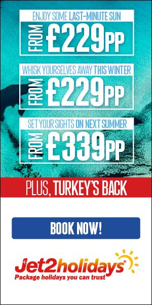 Jet2holidays: Top deals for winter & summer holidays in 2021/2022